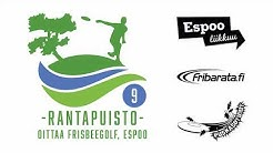 Oittaa frisbeegolf, Espoo - Rantapuisto (9-väylää)