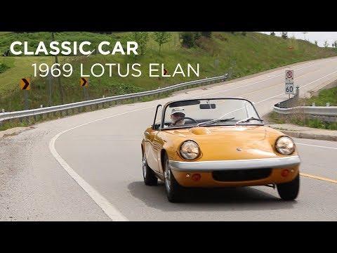 Classic Car   1969 Lotus Elan   Driving.ca