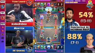 Clash Royale League Final Mundial 2019 - Team Liquid vs SK Gaming -  RDLP