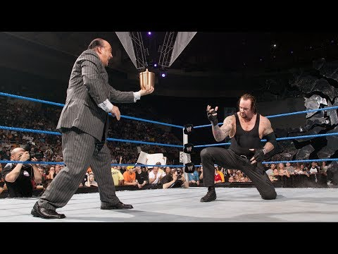 The Undertaker joins forces with Paul Heyman: SmackDown, June 10, 2004