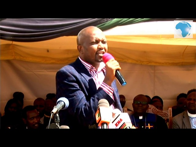 Moses Kuria asserts that Ivy was such bright scoring straight A plain at Alliance Girls' High School