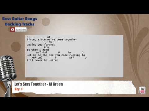 Let's Stay Together - Al Green Vocal Backing Track with chords and lyrics