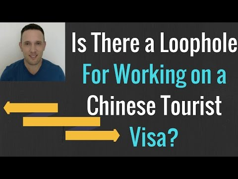 Can I Work In China as an English Teacher on a Tourist Visa?