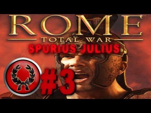 Rome: Total War Role Play Campaign - Spurius Julius #3