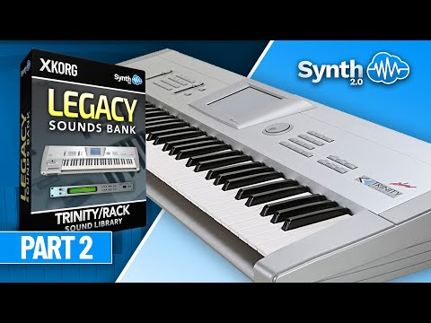 Korg Trinity Legacy Collect.- Classic Sounds / Jamming Part 1 (Synthcloud )