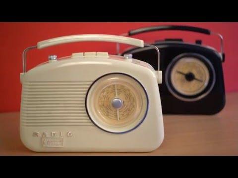 Steepletone Brighton Retro Style 3 Band Analogue Radio