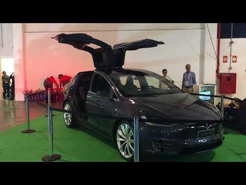 Tesla at Electric Veichle Fair 2017, São Paulo