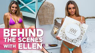 A Sexy Christmas With Wicked Weasel: Ellen Wears Hot Bikinis, Lingerie, Dresses And More!