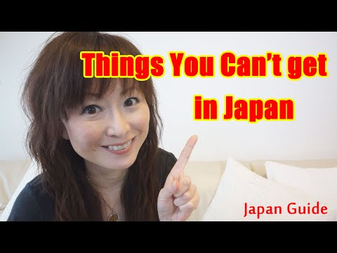 Things you can't get in Japan Japan Guide