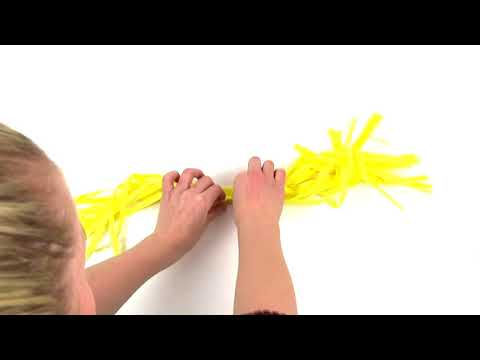 How To Assemble A Tassel For A Tassel Garland