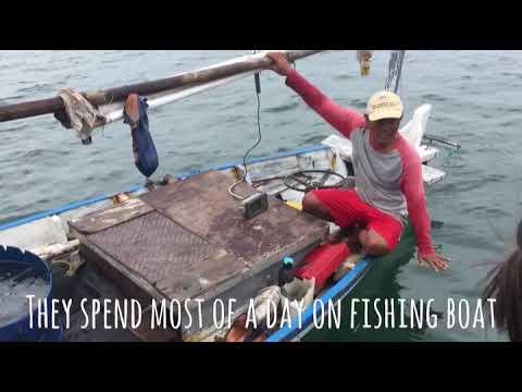 Fishermen's life in Indonesia