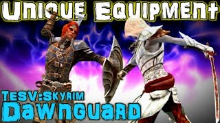 TESV: Dawnguard - Unique Weapons & Armor Guide (DLC)