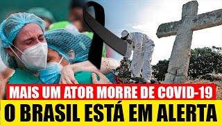 Brasil Triste: Ultimas noticias, Mais um ator se vai  aos 45 anos  após consequência  de uma piora n