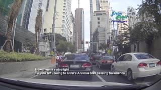 Drive Trip!! Philippines - Kalayaan Avenue Makati [Picar and Century City]