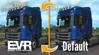 The Best Sound Mods for ETS2?   Engine Voice Records vs Default sounds   Euro Truck Simulator 2
