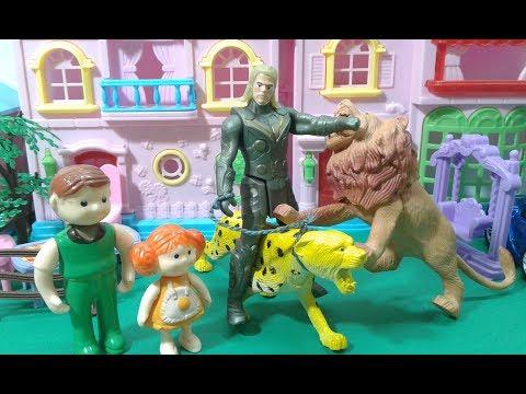 معركة الحيوانات المفترسة / ملك خائفة جدا !! يوميات ملوكة