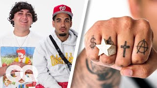 Shoreline Mafia Break Down Their Tattoos | GQ