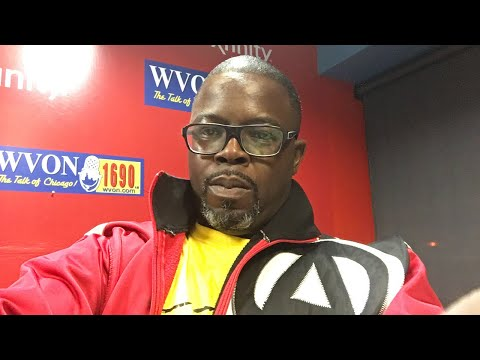 Watch The WVON Morning Show...Today George Blakemore!