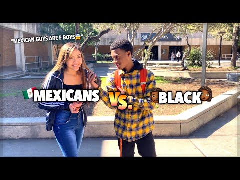 WHICH DO YOU PREFER MEXICAN GUYS OR BLACK GUYS | PUBLIC INTERVIEW L (HIGH SCHOOL EDITION📚)