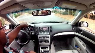 07 g35 sedan test pipes and muffler delete