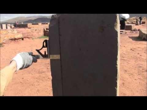 Puma Punku  Obvious Evidence Of Advanced Ancient Machining- Dr. Timothy Sauder