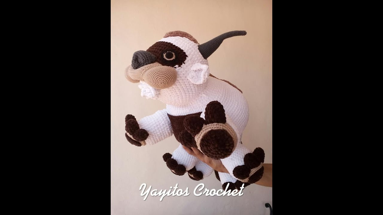 Appa Knitted Amigurumi PDF Pattern - From Avatar the Last ... | 720x1280