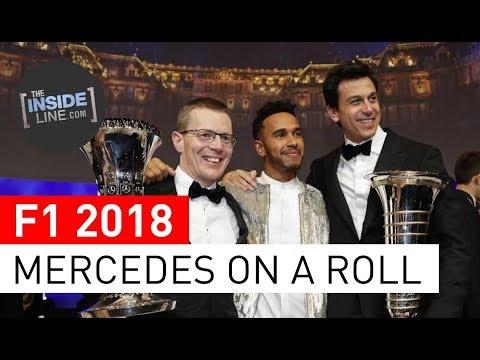 F1 NEWS 2018 - MERCEDES: CONFIDENCE WAVE [THE INSIDE LINE TV SHOW]