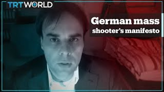 Shooter in Germany terror attack reveals motives in manifesto