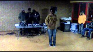 Don Volatile Soweto U-Born Hip Hop Session performance