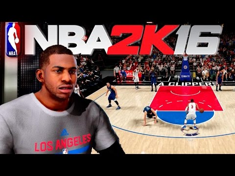 NBA 2K16 - Full 4 Quarters Of Gameplay / Chris Paul Crossover Ankle Breakers