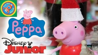 Diy Christmas Village With Peppa Pig Mickey Mouse Minnie Mouse And Buzz Bee The Hive