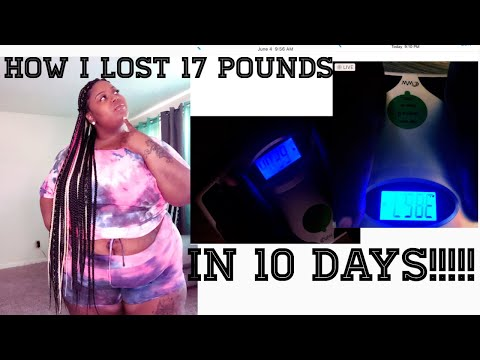 HOW TO LOSE WEIGHT FAST IN 10 DAYS (AT HOME)