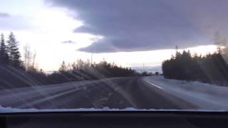 Riding on route E105/M18 | Lot Murmansk - Olenegorsk(, 2016-12-25T15:41:49.000Z)