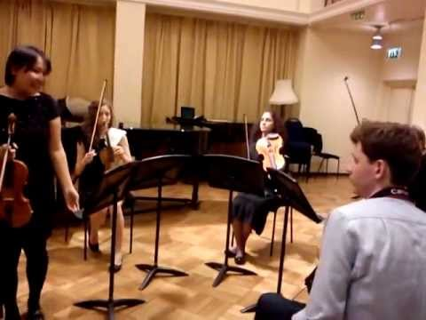 Haydn String Quartet 23 - Minuett-