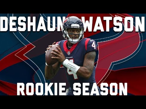 Deshaun Watson's 2017 Rookie Year Highlights | NFL