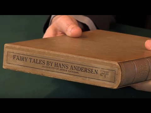 Fairy Tales by Hans Christian Andersen, Arthur Rackham. Signed Limited Edition, 1932.