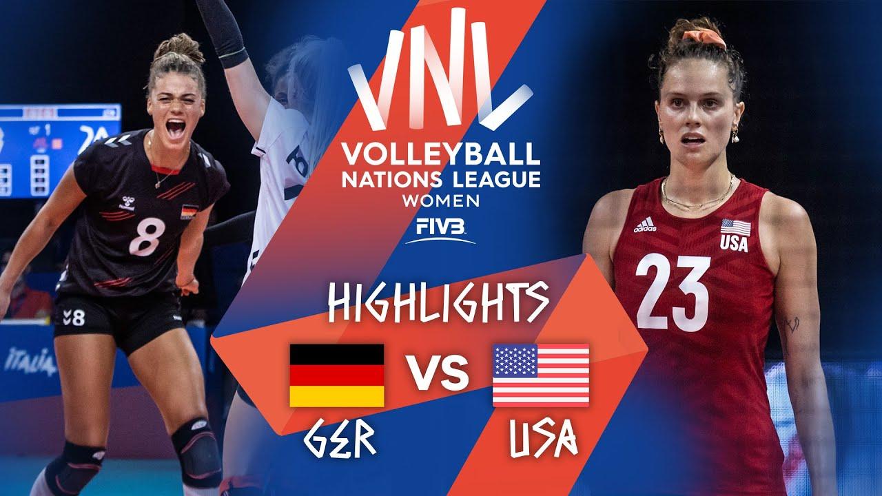 Download GER vs. USA - Highlights Week 3 | Women's VNL 2021
