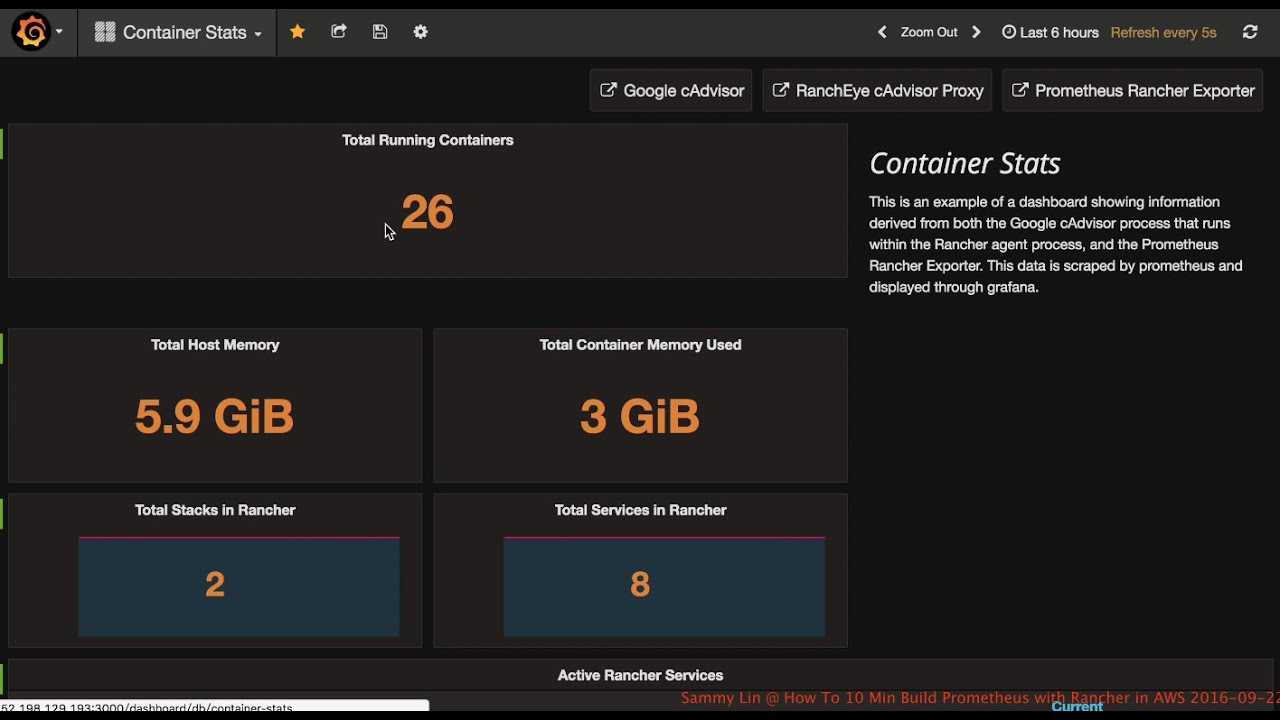 How To 10 Minute Build Prometheus with Rancher in AWS