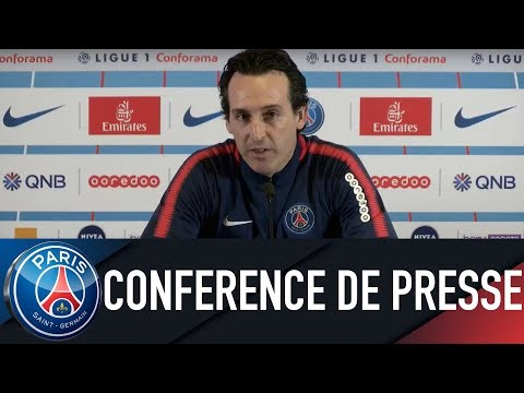 Paris Saint-Germain Press Conference PARIS SAINT-GERMAIN VS STRASBOURG