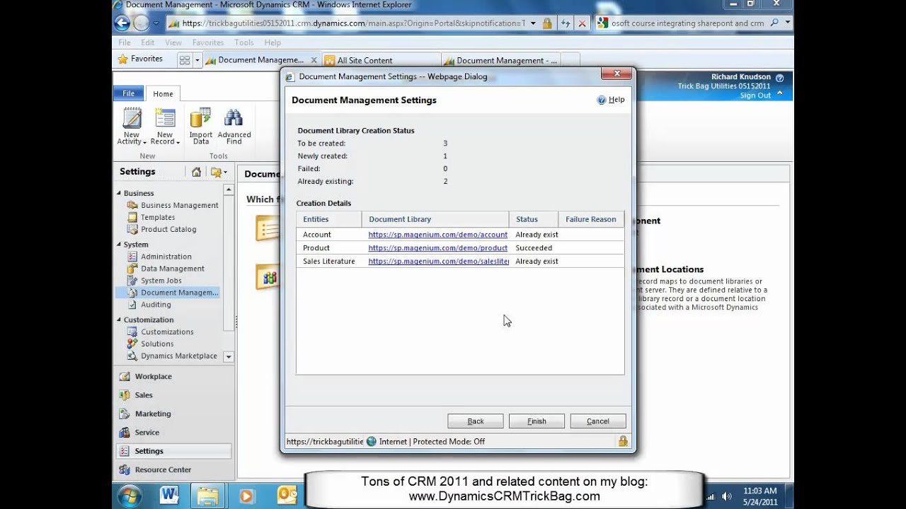 SharePoint 2010 and CRM 2011 Integration - List Component and ...