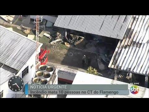 Tragedia en Brasil: diez muertos por un incendio en su centro de entrenamiento de Flamengo