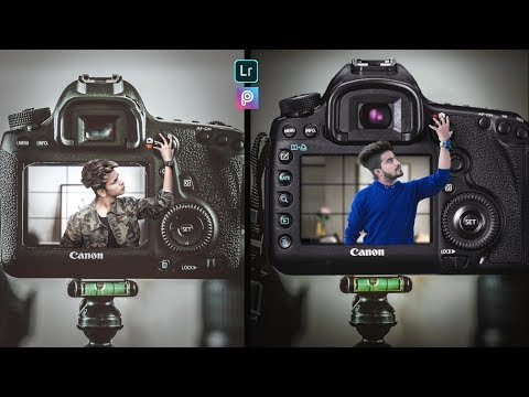Instagram Viral 3D camera Photo Editing Tutorial || Instagram DSLR Photo editing tutorial ||