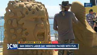Numerous events set for Labor Day weekend in San Diego