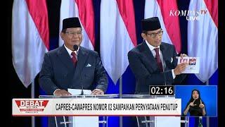 Komitmen Prabowo-Sandi Tak Akan Ambil Gaji Serupiah Pun Jika Terpilih