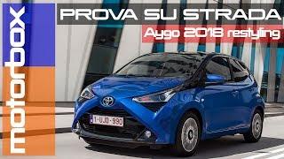 Toyota Aygo 2018 | la prova su strada della versione restyling