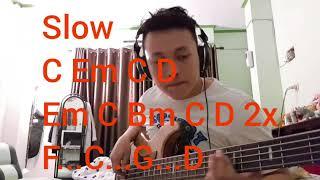 Download lagu Hidupkku takkan sama bass cover true worshipper with tabs MP3