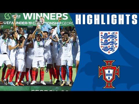 England win the U19 Euros | Official Highlights