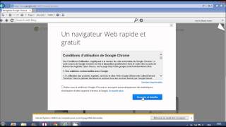 cemment tu veux telecharger google chrome