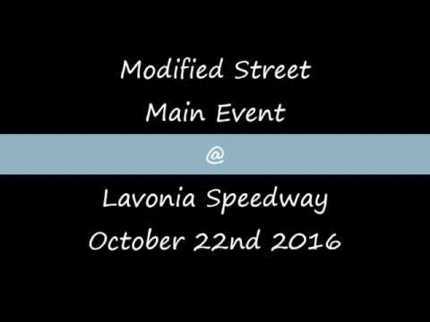Modified Street Main @ Lavonia Speedway October 22nd 2016