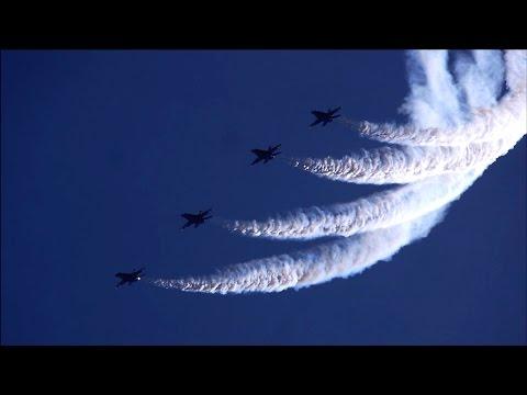 Vidalia airshow 2015 (Feat. Blue Angels full flight) HD